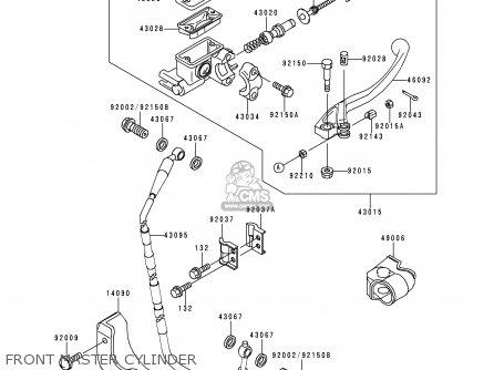 Kawasaki KX250-L1 1999 USA CANADA parts lists and schematics
