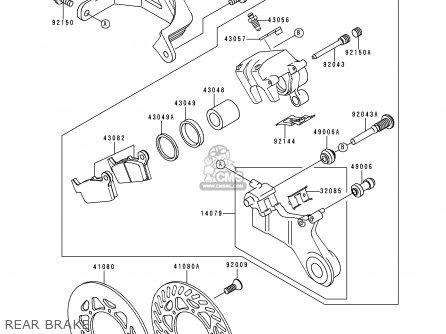 Kawasaki KX250-L2 2000 EUROPE AS parts lists and schematics