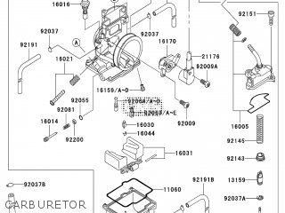 Kawasaki KX250-M1 2003 EUROPE parts lists and schematics