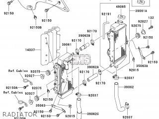Kawasaki KX250-M1 2003 EUROPE parts lists and schematics