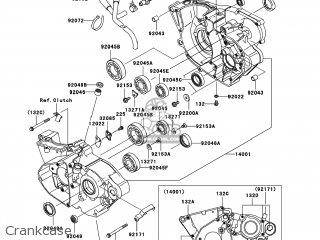 Kawasaki KX250-T8F KX250F 2008 USA parts lists and schematics