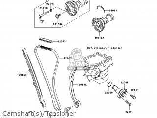 Kawasaki KX250-W9F KX250F 2009 USA parts lists and schematics