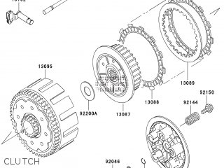 Kawasaki KX250R6F 2006 EUROPE parts lists and schematics