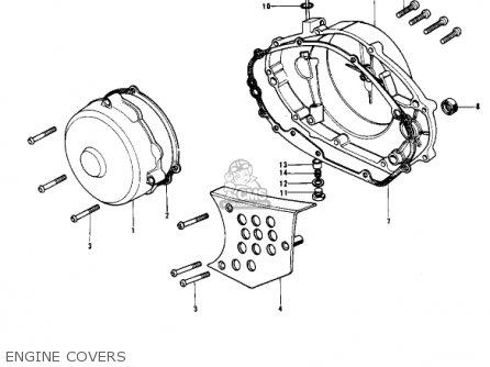 Kawasaki KX400-A2 1976 USA parts lists and schematics