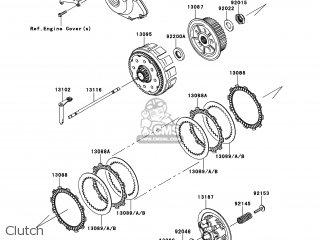 Kawasaki KX450-FDF KX450F 2013 USA parts lists and schematics
