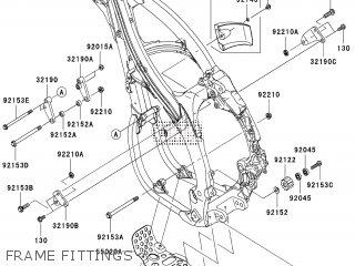 Kawasaki KX450D8F 2008 EUROPE parts lists and schematics