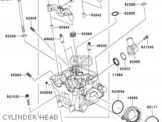 Kawasaki KX450EAF 2010 EUROPE parts lists and schematics