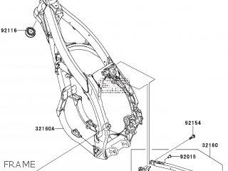 Kawasaki KX450FEF 2014 EUROPE parts lists and schematics