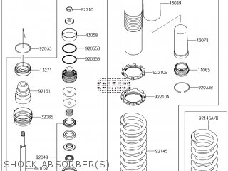 Kawasaki KX450HJF 2018 EUROPE parts lists and schematics