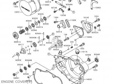 Kawasaki KX500-E12 2000 EUROPE AS parts lists and schematics