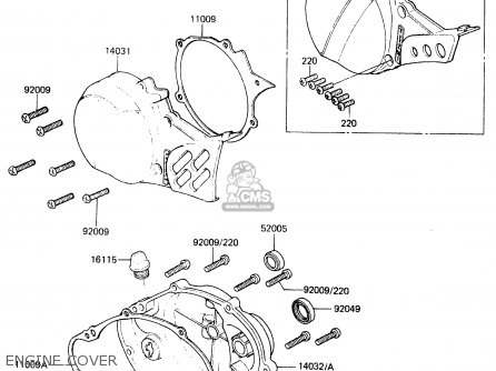 Kawasaki KX60-A2 1984 A1/A2 parts lists and schematics