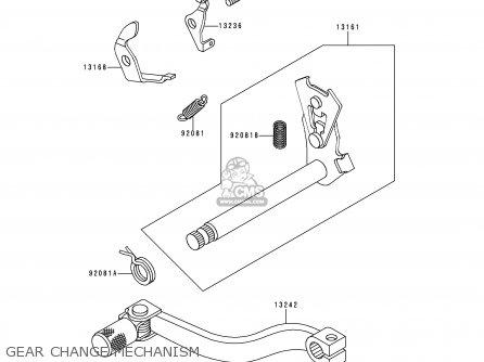 Kawasaki KX60-B12 1996 EUROPE AS parts lists and schematics