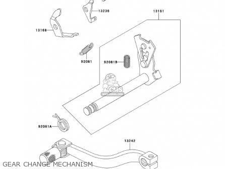 Kawasaki KX60-B18 KX60 2002 USA CANADA parts lists and