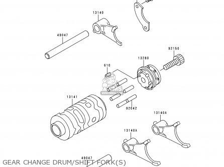Kawasaki KX65-A1 2000 EUROPE AS parts lists and schematics
