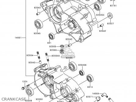 Kawasaki Kx65-a1 2000 Usa Canada parts list partsmanual