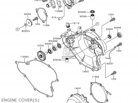 Kawasaki Kx65-a1 2000 Usa Canada parts list partsmanual