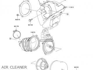 Kawasaki KX65-A5 KX65 2004 USA CANADA parts lists and