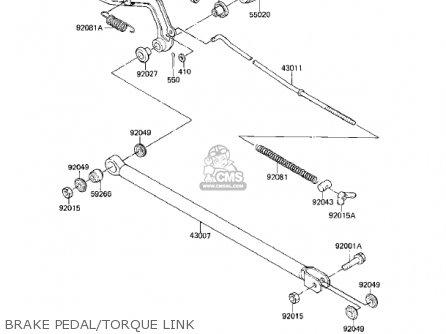 Kawasaki Kx80-e1 Kx80 1983 Usa Canada parts list