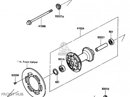Kawasaki KX80-E2 1984 USA CANADA UK AL parts lists and