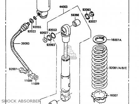 Kawasaki KX80-F3 1985 parts lists and schematics