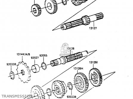 Kawasaki Kx80-f3 1985 parts list partsmanual partsfiche