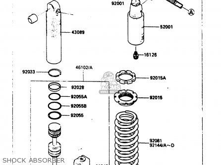 Kawasaki Kx80 Carburetor Diagram Kawasaki KV75 Carburetor