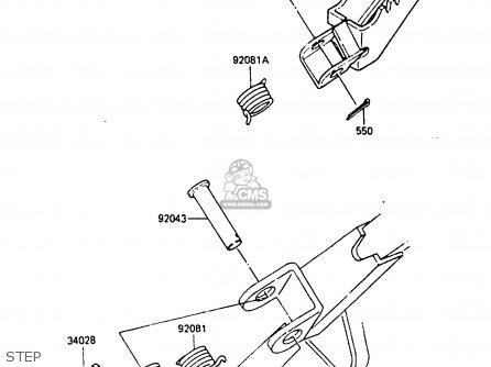 Kawasaki KX80-K2 1987 WEST GERMANY parts lists and schematics