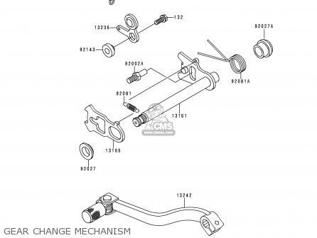 Kawasaki Kx80-r2 1992 Usa Canada parts list partsmanual