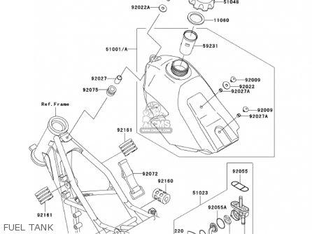 Kawasaki KX85-A2 KX85 2002 USA CANADA parts lists and