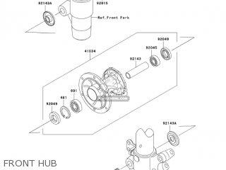 Kawasaki KX85-A5 KX85 2005 USA CANADA parts lists and
