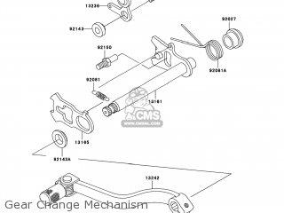 Kawasaki KX85-A9F 2009 USA parts lists and schematics