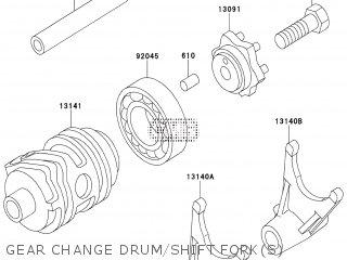 Kawasaki KX85ADF 2013 EUROPE parts lists and schematics