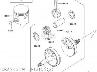 Kawasaki KX85BBF 2011 EUROPE parts lists and schematics