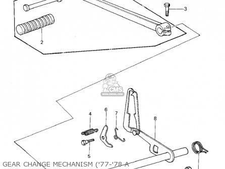 Kawasaki KZ1000A1 1977 CANADA parts lists and schematics