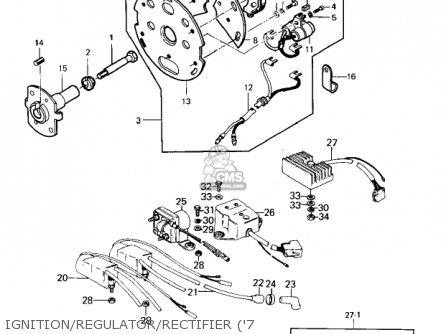 Kawasaki KZ1000A2 KZ1000 1978 CANADA parts lists and