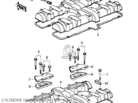 Kawasaki Kz1000a3 Kz1000 1979 Canada parts list