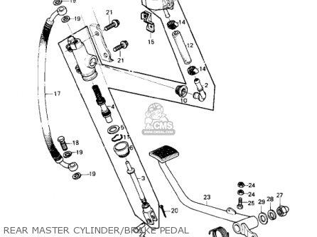 A Wiring Diagram For 1977 Honda Gl1000 1977 Honda Cb550f