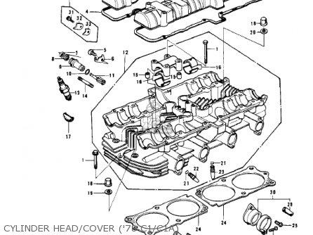 Kawasaki KZ1000C2 POLICE 1000 1979 USA CANADA parts lists