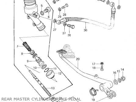Kawasaki Kz1000d3 Z1r 1980 Canada parts list partsmanual
