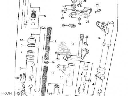 Kawasaki KZ1000E2 SHAFT 1980 CANADA parts lists and schematics