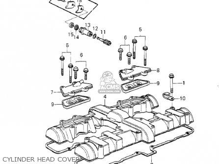 Kawasaki Kz1000g1 Classic 1980 Canada parts list