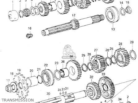 Kawasaki KZ1000G1 CLASSIC 1980 CANADA parts lists and