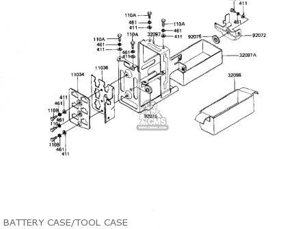 Kawasaki Kz1000j1 1981 Usa Canada parts list partsmanual