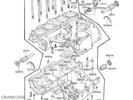 Kawasaki KZ1000J3 1983 USA CANADA parts lists and schematics