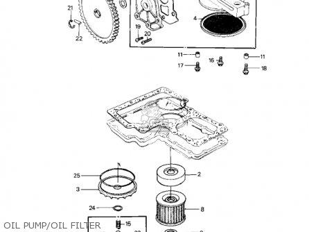 Kawasaki KZ1000P1 POLICE 1000 1982 USA parts lists and