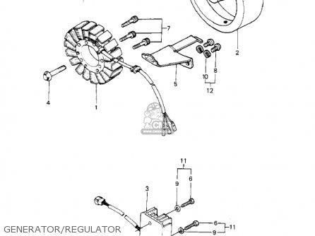 Kawasaki KZ1000P5 POLICE 1000 1986 USA parts lists and