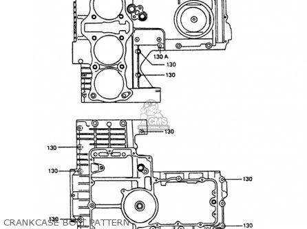 Kawasaki Kz1000p8 Police 1000 1989 Usa parts list