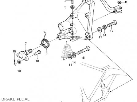 Kawasaki Kz1300a1 1979 Usa Canada parts list partsmanual