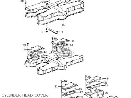 Kawasaki KZ1300A1 1979 USA CANADA parts lists and schematics