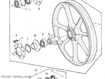 Kawasaki 1300 Voyager Wiring Diagram Kawasaki KE250 Wiring
